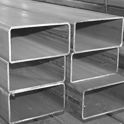 Welded square pipes